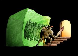 Slime, cubed