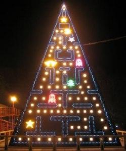 pac-man-christmas-tree