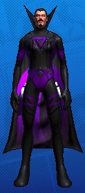 Ghostfire (twin pistols/sorcery) - he's all about the purples and blacks!  Don't think I'm going to play him much for now, however.