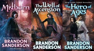 Mistborn Trilogy Covers