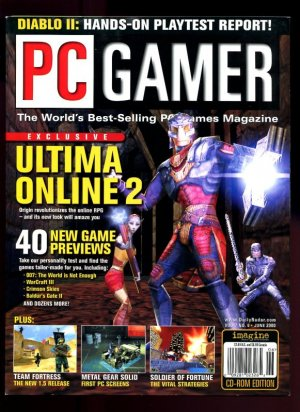 UO2 PC Gamer Cover