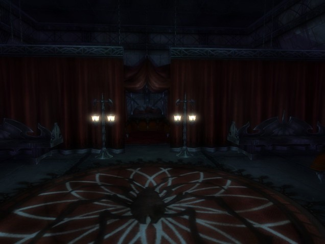 Pic 24 The bedroom where the drow high command commit their unspeakable depravities…and also get a good night's sleep