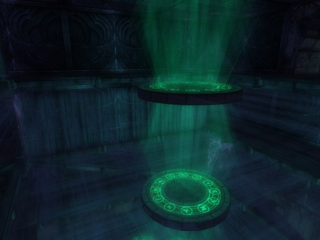Pic 25 Drow summoning chamber