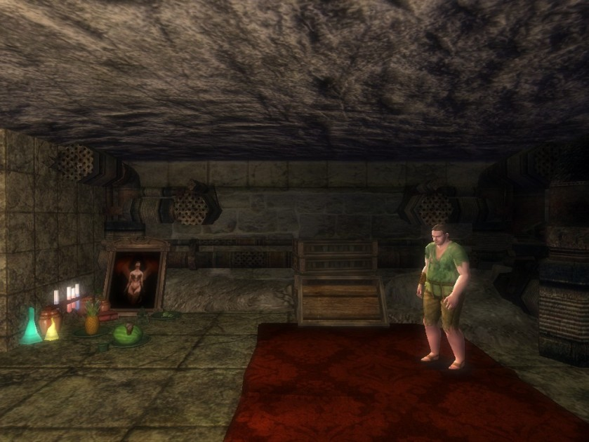 Pic 3 Durk the Deranged in his sewer hideout