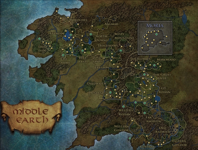 lotro the size and shaping of middleearth � bio break
