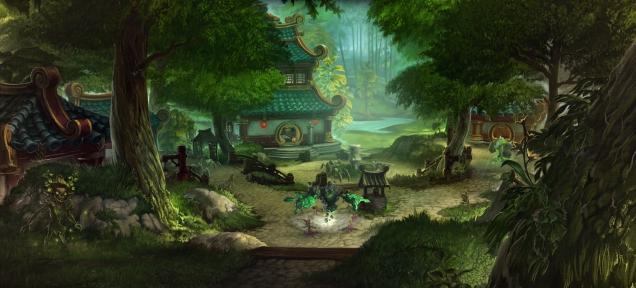 World of Warcraft: the Pandas