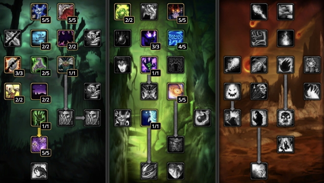 Blizzard should bring back World of Warcraft's talent trees